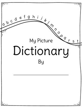 Picture Dictionary (Blank)