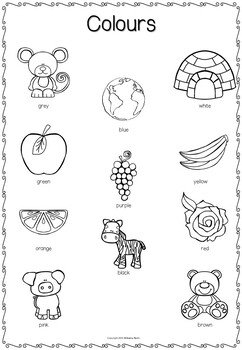 Picture Dictionary - EFL/ESL Writing Tools