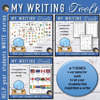 Picture Dictionary - ESL/EFL Writing Tools Bundle