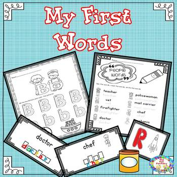 Picture Dictionary – My First Words