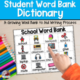 Picture Dictionary | Word Bank | Writing