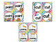 Picture Direction Cards - Fun Rainbow