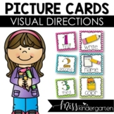 Picture Directions Visual Cue Cards