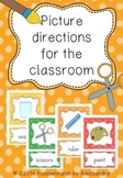 Picture Directions for the classroom {16 different directions}