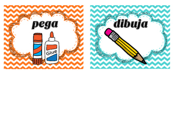 Picture Directions in Spanish