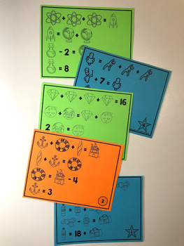 Picture Equations - Free Challenge Puzzles by Math Giraffe ...