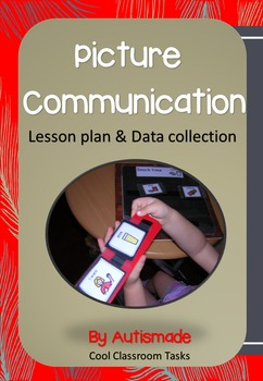Communication lesson plan and Data sheets (Phase I PECS)