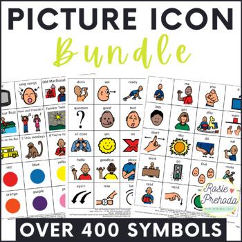 Picture Exchange {PECS} BUNDLE