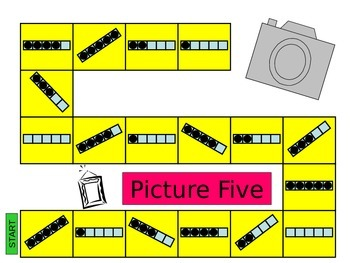 Picture Five! - Math Game Making 5 (Structuring Number)