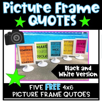 Picture Frame Quotes