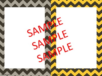 "Back to School Picture Frames 4""x6"""
