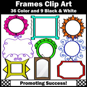 Picture Frame Clipart for TpT Sellers SPS