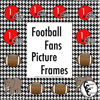 Picture Frames For That Football Fan