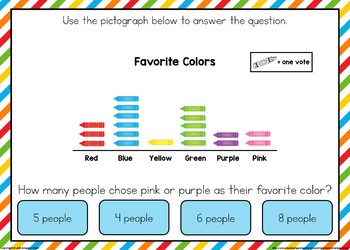 Picture Graph Boom Cards