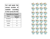 Picture Graph Cut and Paste Worksheet