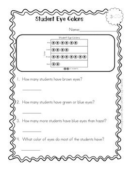 Picture Graph Differentiated Activity Pages