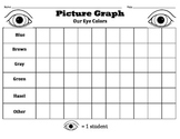 Picture Graph / Pictograph - Our Eye Colors