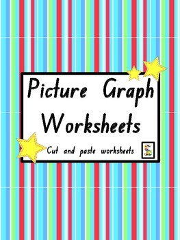 Picture Graph Worksheets - Cut and Paste Printables! by ...