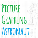 Picture Graphing (Astronaut): Plotting Points on a Coordinate Plane