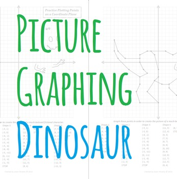 Picture Graphing (Dinosaur): Plotting Points on a Coordinate Plane