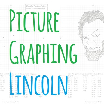 Picture Graphing (Lincoln): Plotting Points on a Coordinate Plane