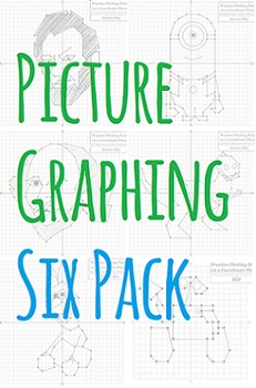 Picture Graphing (Six Pack): Plotting Points on a Coordina