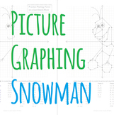 Picture Graphing (Snowman): Plotting Points on a Coordinate Plane