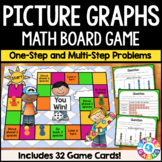 Picture Graphs Activity: Solve Problems on Picture Graphs Game {3.MD.3}