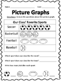 Picture Graphs Activity Pack