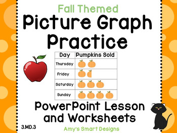 Picture Graphs: Fall Themed PowerPoint/SMARTBoard lesson a