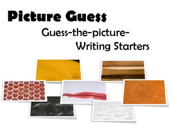 Picture Guess Writing Prompts
