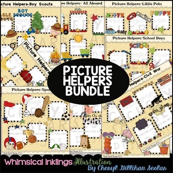 Picture Helpers Bundle- NO LICENSE REQUIRED CLIPART FRAMES