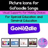 Picture Icons for GoNoodle Songs