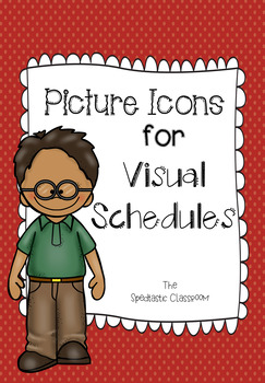 Picture Icons for Visual Schedules