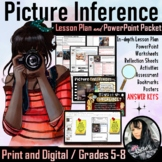 Inference with Pictures Lesson Plan, PowerPoint, Worksheet