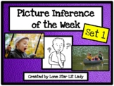 Picture Inference of the Week - Set 1 (PDF Format)