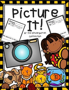 Picture It! Read, Write, and Draw Printables