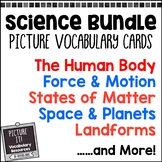 Picture It! Science Vocabulary Cards for EC Classrooms {Growing Bundle}