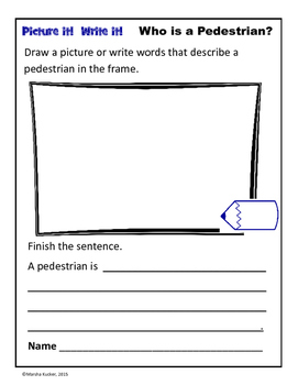Word Work: Who is a Pedestrian?