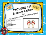 Picture It! for Verbal Expression & Written Language - Summer Edition