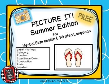 Picture It! for Verbal Expression & Written Language - Sum