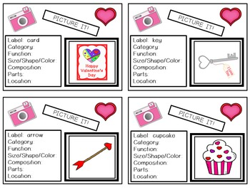 Picture It! for Verbal Expression & Written Language - Valentine's Edition