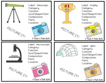 Picture It! for Verbal Expression and Written Language