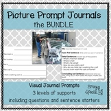 Picture Journal Prompts BUNDLE {Leveled Writing} Great for