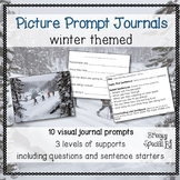 Picture Journal Prompts WINTER {Leveled Writing} Great for