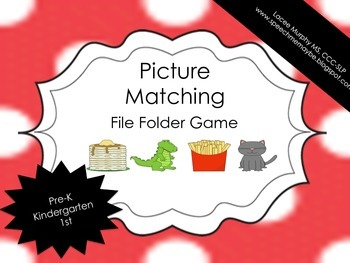 File Folder Game: Picture Matching