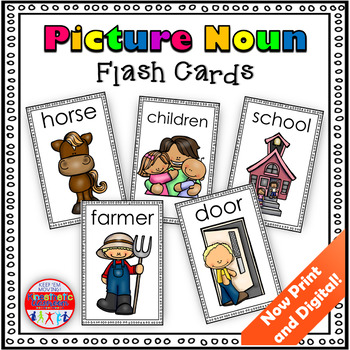Picture Nouns: Flash Cards