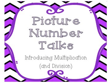 PICTURE NUMBER TALKS -- TASK CARDS ONLY