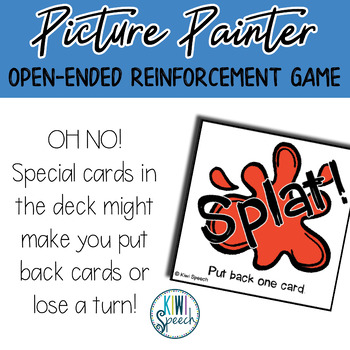 Picture Painter: : Open Ended Reinforcement Game for Mixed Speech Therapy Groups
