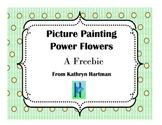 Picture Painting Power Flower Descriptive Writing Activities